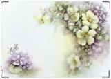 Обложка на паспорт, цветы