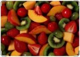 Обложка на паспорт, фруктовый салатик
