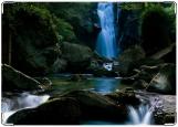 Блокнот, водопад