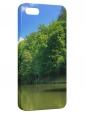 Чехол для iPhone 5/5S, Природа-Река