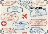 Обложка на паспорт с уголками, Путешествия 2