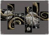 Обложка на паспорт с уголками, Галактика