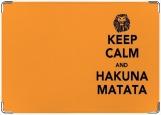 Обложка на паспорт с уголками, Наkuna matata