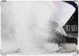 Обложка на паспорт с уголками, ice man 2