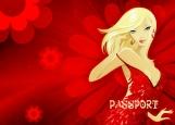 Обложка на паспорт без уголков, Обложка на паспорт
