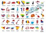 Обложка на паспорт без уголков, Europe