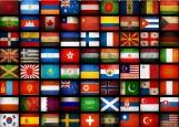 Обложка на паспорт без уголков, Флаги