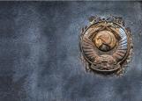 Обложка на паспорт без уголков, СССР гранж