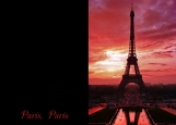 Обложка на паспорт без уголков, Paris
