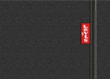 Обложка на паспорт без уголков, Levi's