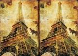 Обложка на паспорт без уголков, Париж