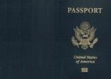 Обложка на паспорт без уголков, Америка