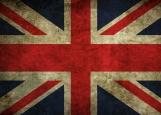 Обложка на паспорт без уголков, Британский флаг