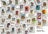 Обложка на паспорт без уголков, Love is...