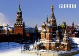 Обложка на паспорт без уголков, RUSSIA