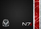 Обложка на паспорт без уголков, Mass Effect