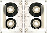 Обложка на паспорт без уголков, Аудиокассета v3