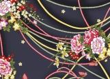 Обложка на паспорт без уголков, Цветы