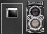 Обложка на паспорт без уголков, фотоаппарат Rolleiflex
