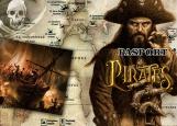 Обложка на паспорт без уголков, пираты