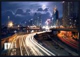 Обложка на автодокументы без уголков, Big city