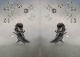 Обложка на паспорт без уголков, Дарт Вейдер в тумане