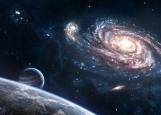 Обложка на автодокументы без уголков, Галактика