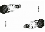 Обложка на автодокументы без уголков, CHANEL