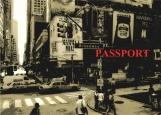 Обложка на паспорт без уголков, Нью-Йорк