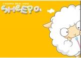 Обложка на автодокументы без уголков, Sheep)