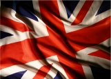 Обложка на паспорт без уголков, UK flag