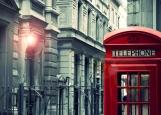 Обложка на автодокументы без уголков, Лондон