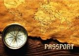 Обложка на паспорт без уголков, Путешественник