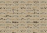 Обложка на автодокументы без уголков, Крафт-машинки