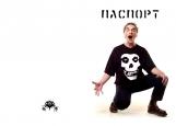 Обложка на паспорт без уголков, Михаил Горшенев / Горшок