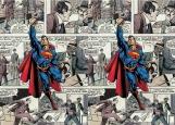 Обложка на паспорт без уголков, Супермен