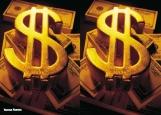 Обложка на автодокументы без уголков, Доллар