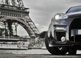 Обложка на автодокументы без уголков, Авто в Париже