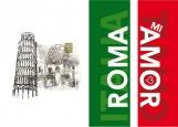 Обложка на паспорт без уголков, ROMA