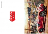 Обложка на автодокументы без уголков, Mille Miglia