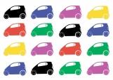 Обложка на автодокументы без уголков, Машинки