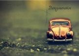 Обложка на автодокументы без уголков, Car