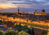 Обложка на паспорт без уголков, Флоренция