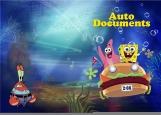 Обложка на автодокументы без уголков, spongeBob