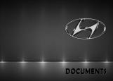 Обложка на автодокументы без уголков, Hyundai auto