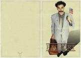 Обложка на паспорт без уголков, Борат