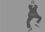 Обложка на паспорт без уголков, Gangnam Style