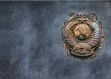 Обложка на автодокументы без уголков, гранж СССР