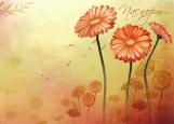 Обложка на паспорт без уголков, Flowers