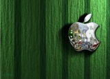 Обложка на паспорт без уголков, Apple